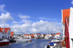 Skudesneshavn (annemwo) Tags: clouds seaside summer summertime august skudesneshavn norway