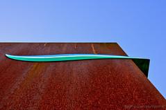 Kunst am Kanal --- (Gelegenheitsknipser) Tags: marcopagel mpfotonet gelegenheitsknipserde 2013 deutschland norddeutschland kreisrendsburgeckernförde rd nordostseekanal nok seeweg schifffahrtsweg schiff schiffe schleswigholstein sh schachtaudorf skulptur plastik kunstwerk