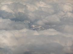 Hide and Peak (Steve Taylor (Photography)) Tags: monocolor monocolour newzealand nz southisland canterbury southernalps cloud