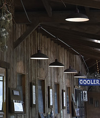 Photo#227-Supplemental Lighting (☼☼ Jo Zimny Photos☼☼) Tags: 366the2016edition artificiallight hanging undertheporch sign cooler chalkboards placques 365the2018edition 3652018 day227365 15aug18