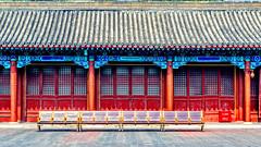 In der Verbotenen Stadt (joern_ribu) Tags: china peking beijing architektur architecture palace palast geschichte history historic old colorful
