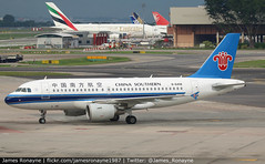 B-6408   Airbus A319-112   China Southern Airlines (james.ronayne) Tags: b6408 airbus a319112 china southern airlines aeroplane airplane plane aircraft jet jetliner airliner aviation flight flying singapore changi sin wsss canon 80d 100400mm raw