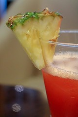 Cocktail Time (haberlea) Tags: cruise cocktail drink pineapple glass detail details