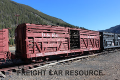 DRG 5827 (Freight Car Resource) Tags: denverriograndewestern riogrande narrowgauge freightcar 3footgauge drgw drg denverriogrande train railroad railway stockcar sheep cattle