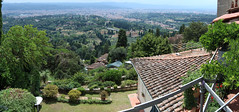 View over Firenze II (Tripl3 D) Tags: panorama firenze florence italy italië fiesole view uitzicht stad city toscane tuscany gebouwen buildings bomen trees daken rooftops canon canoneos650d eos 650d microsoftimagecompositeeditor