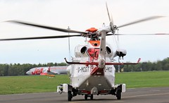REAR VIEW G-MCGT AW-189 NEWCASTLE AIRPORT (toowoomba surfer) Tags: coastguard helicopter aviation ncl egnt
