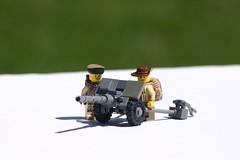 Field Gun (ModernBrix) Tags: artillery modernbrix modern brix lego build moc creation field gun russian military brickarms
