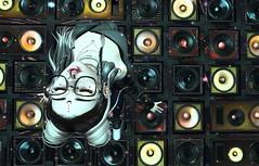 The Music Got Me (Anja Mexicola) Tags: secondlife lealmelody anjamexicola music trance speakers dj club digital art catwa maitreya colors shadow moon tetra evani valekoer girl virtual tsalon foxcity zombie thecranberries kurenai