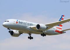 N817AN Boeing 787 American (@Eurospot) Tags: n817an boeing 787 787800 american bcn lebl barcelone