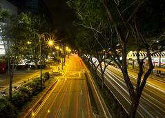 Night Traffic (fantommst) Tags: lisaridings fantommst singapur singapore scotts street nighttrails traffic busy nightscape movement lights cityscape time exposure city urban