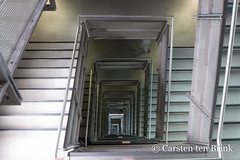 Newcastle (10b travelling / Carsten ten Brink) Tags: carstentenbrink 10btravelling 2018 britain british england english europa europe greatbritain iptcbasic newcastle scouse tyne tyneside uk cmtb north perspective river spiral staircase tenbrink