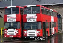 Dublin Bus RH85/65 (91D1085/65). (Fred Dean Jnr) Tags: dublin april2005 bstone broadstonedepotdublin broadstone buseireannbroadstonedepot dublinbusdrivingschool dublinbus busathacliath leyland olympian alexander r rh85 rh65 91d1085 91d1065