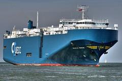Arabian Breeze (Bernhard Fuchs) Tags: boat cargo cargoships cuxhaven elbe fracht frachtschiff frachtschiffe nikon schiffe ship ships vessel water schiff boot wasser meer roro autotransporter roroschiff