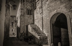 Medieval Mdina, The Silent City of Malta. (Ula P) Tags: medieval sepia thesilentcity sony malta