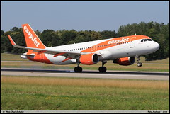 AIRBUS A320 214 easyJet G-EZWG 5318 Bale Mulhouse juin 2018 (paulschaller67) Tags: airbus a320 214 easyjet gezwg 5318 bale mulhouse juin 2018