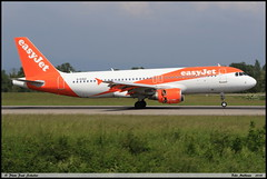 AIRBUS A320 214 easyJet G-EZUZ 5187 Bale Mulhouse mai 2018 (paulschaller67) Tags: airbus a320 214 easyjet gezuz 5187 bale mulhouse mai 2018