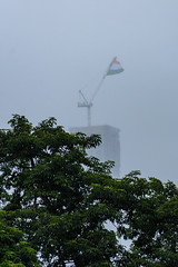 Let the flag flap  and announced The Independence (priyankapal23) Tags: building tree flag indian hogh rise
