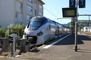 Régiolis B 83545 en gare de Cahors