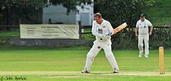 Ouch!!! (Row 17) Tags: uk gb england yorkshire pateleybridge sport sportsmen cricket man men people nikon d90 candid portrait