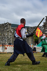 DSC_0275 (Coed Celyn Photography) Tags: medieval reenactment cymer abbey north wales dolgellau cadw cymru snowdonia castle knights armour armor battles battle fight sword shield axe flail event living history historical historic larp