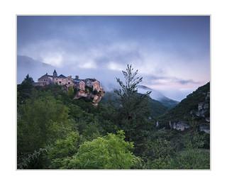 Dawn at Cantobre, Gorges de la Dourbi, Southern France