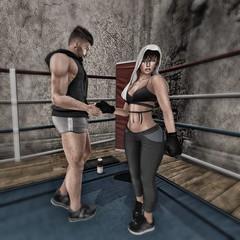 Fighter (~ ESOTERIC ~) Tags: boxer maitreya lona lara catwa secondlife