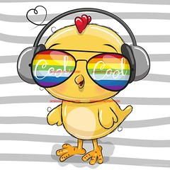 Cute Chicken with sun glasses (designfactory1066) Tags: chicken chic bird flowers cool vector cute illustration cartoon animal design print fashion funny shirt graphic isolated art boy drawn background card greeting cutie nice drawing character style glasses hand sketch portrait beautiful child sun head girl baby kids face girls