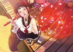 Wonder Oni. (.❤.ρµmþkïñ.❤.) Tags: kurenai event okinawasummerfestival secondlife 2endlife japanese oni demon kawaii cute
