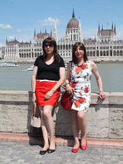 Budapest - Parliament (Alessia Cross) Tags: crossdresser tgirl transgender transvestite travestito