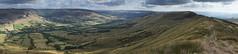 Edale Panorama (l4ts) Tags: landscape derbyshire peakdistrict darkpeak valeofedale thegreatridge grindsbrook kinderscout panorama