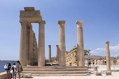Lindos Akropolis Temple of Athena (ir0ny) Tags: rhodes greece lindos acropolis akropolis lindosacropolis lindosakropolis greek ancient ancientgreek temple greektemple athena templeofathena ruins ancientruins lindian
