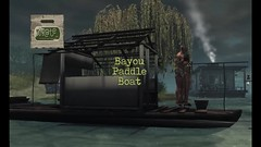 crate Bayou Paddle Boat (crate.) Tags: decor vehicle boat drivable paddle riverboat