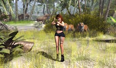 Welcome to the Jungle (aerlinniel.roughneck) Tags: escalated witchcraft 7deadlyskins bittersweetevent blueberry darkpassionskoffinnails fable3 mooh stargazercreations stonerella thesecretaffair