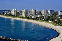 City of Pompano Beach, Broward County, Florida, USA (Photographer South Florida) Tags: pompanobeachcity cityscape urban downtown skyline browardcounty southflorida density centralbusinessdistrict skyscraper building architecture commercialproperty cosmopolitan metro metropolitan metropolis sunshinestate realestate fishingpier atlanticocean