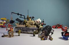 Tank (dolgovdmitro) Tags: tank tiger lego russia zombie