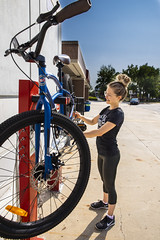 RRC_Sustainability_July 2018-035 (RedRiverCollege) Tags: rrc redrivercollege notredamecampus ndc sustainability electriccar compost bike