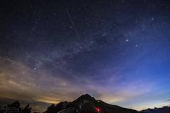 石門山流星 (Hong Yu Wang) Tags: perseid galxy taiwan sony a73 a7iii 1224g 合歡山 石門山 英仙座 流星雨 星空 meteorshower meteor 天空