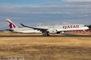 A7-ANA Qatar Airways Airbus A350-1041 (FRA - EDDF - Frankfurt)