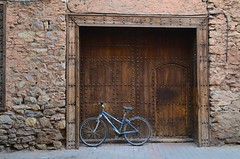 Moroccan townscape (s_evil) Tags: morocco maroc travelling townscape bike bicycle traditional moroccan berber village ethnic marrakech
