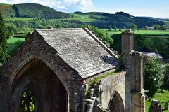 Freestanding apse (orientalizing) Tags: 15thcentury 1146ad abandoned archaia architecture cistercians gothic melroseabbey ruins scotland