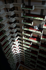 2018-08-FL-194495 (acme london) Tags: atlanta atrium balcony balustrade concrete corridor downtown foyer georgia hotel hyatt hyattregency johnportman planting railing