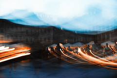 They can't destroy my body I (ewitsoe) Tags: canoneos6dii street warszawa erikwitsoe poland summer urban warsaw create createlife experiment fun withlight lights motion slowblur blur city sky evening night shadows waitingfortheblur