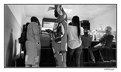 airport bar (harrypwt) Tags: harrypwt samsungs7 s7 framed borders monochrome bw ouagadougou burkina burkinafaso airport