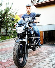 """I and a motorcycle, """"Black Lightning. #photo #photooftheday #photogrid #photoshoot #photographer #photos #photograph #photochallenge #photoftheday #photoaday #photoofday #photoday #photogram #pic #picoftheday #picstitch #picture #piccollage #pictureofthed (avvinsk) Tags: photo photooftheday photogrid photoshoot photographer photos photograph photochallenge photoftheday photoaday photoofday photoday photogram pic picoftheday picstitch picture piccollage pictureoftheday pictures picsart pics picofday pictoftheday pickoftheday instaphoto instapic motorcycle man"""
