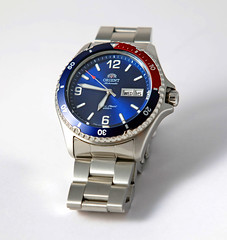 My new Orient watch (fundaluk) Tags: orient mako dive watch