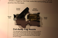 Cut-Away Firefighters Fog Nozzle (rocbolt) Tags: northcharlestonamericanlafrancefiremuseum firefighting fire firedepartment firemuseum museum charleston southcarolina charlestonsouthcarolina firefighter firetruck