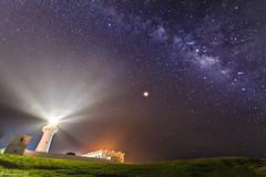 鵝鑾鼻燈塔 (nexpu222) Tags: 屏東 墾丁 鵝鑾鼻燈塔 星空 銀河
