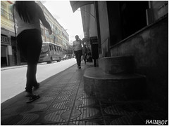 """Downtown"" (Guilherme Alex) Tags: city cityscape citylife citycenter cityday citypulse pulse public people walking citizens citizen stairs bus busstop composition daybyday teófilootoni minasgerais brazil samsung dv100 amateur shot outside exploring angle beautiful woman sidewalk blackandwhite blackwhite buildings windows oldtown oldstyle life living world mycity mylife depressive monocromático wheels traffic jam busy rushhour perspective street"