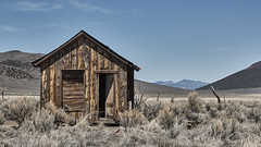 Open Door Policy (joeqc) Tags: nevada nv toiyabe cabin canon t3i efs1855f3556isii indianvalleyranch mountains abandoned forgotten oncewashome