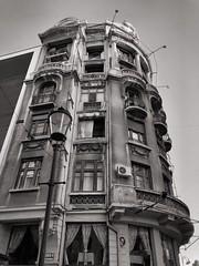 Tower. (Oliver_D) Tags: monochrome bw architecture bucharest romania bucureşti